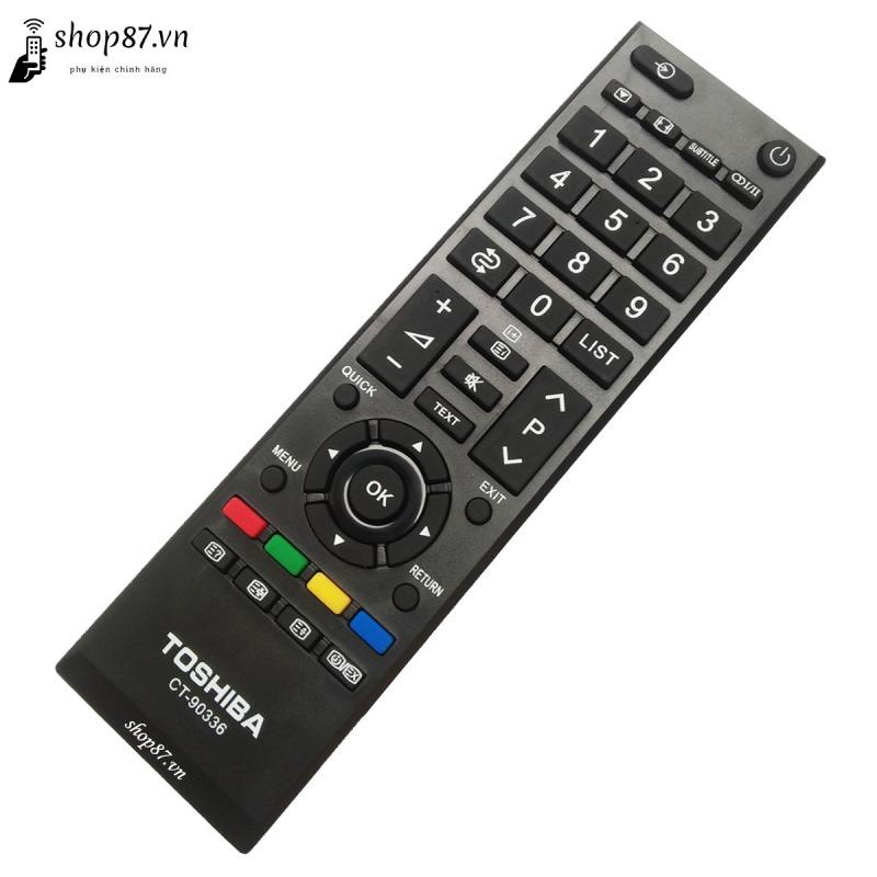 Bảng giá Remote điều khiển tv Toshiba CT-90336