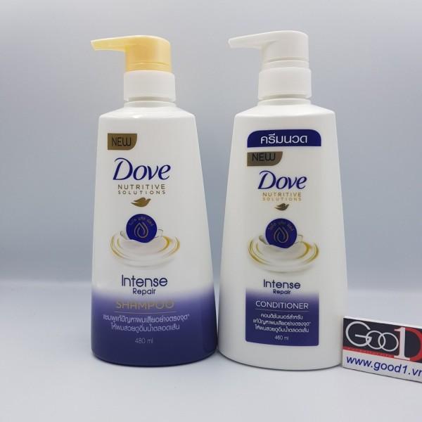 Dầu gội đầu Dove 480ml Intense Repair -Hàng nội địa Thái Lan giá rẻ