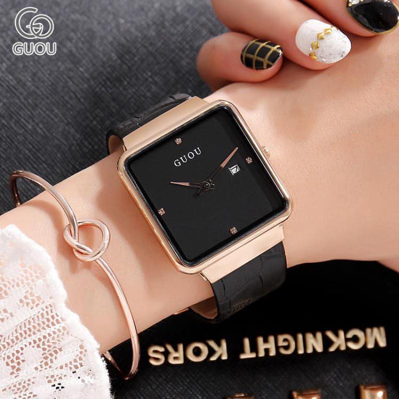 Nơi bán Đồng hồ Nữ GUOU  KALIZA Dây Mềm Mại đeo rất êm tay - Kiểu Dáng Apple Watch 40mm - Đồng hồ nữ cao cấp, Đồng hồ nữ kính sapphire, Đồng hồ nữ chống nước, Đồng hồ nữ đẹp, Đồng hồ nữ giá rẻ, Đồng hồ nữ hàn quốc