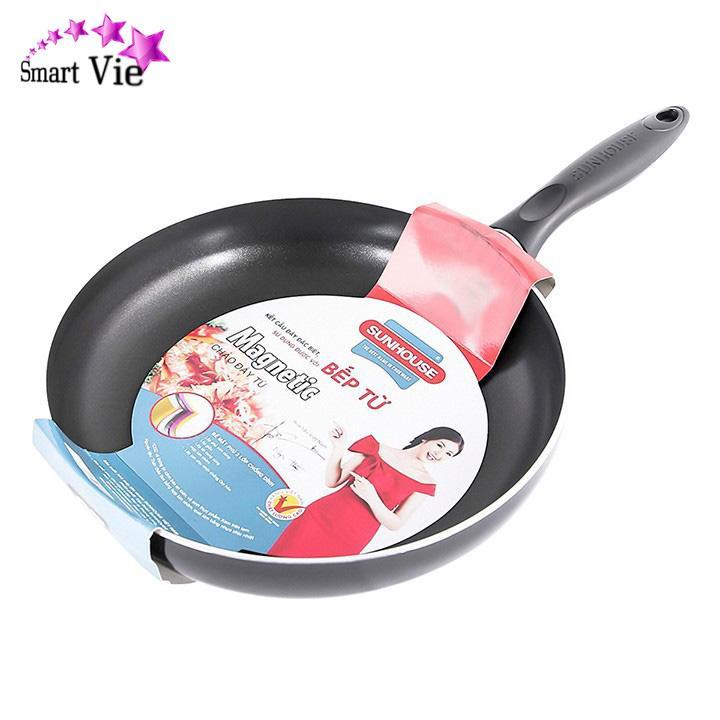 Chảo từ chống dính SUNHOUSE Magnetic Pan SHM22 dày 2,5mm rộng 22cm