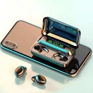Tai nghe bluetooth BTH F9 5 tai nghe không dây Bluetooth 5.0 Pro, âm thanh 9D, chống nước, chống ồn Tai nghe bluetooth pin 3500 mAh kiêm sạc dự phòng cho điện thoại 6