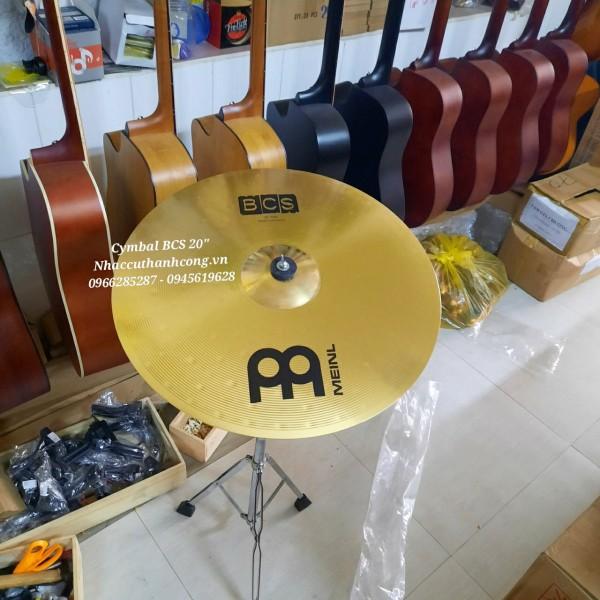 Lá cymbal  ride đồng 20 inch hãng meinl Đức