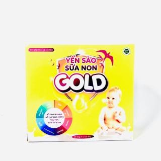 Yến Sào Sữa Non GOLD - Bổ dung vitamin, hỗ trợ tăng cường tiêu hóa giúp ăn ngon (hộp 20 ống) thumbnail