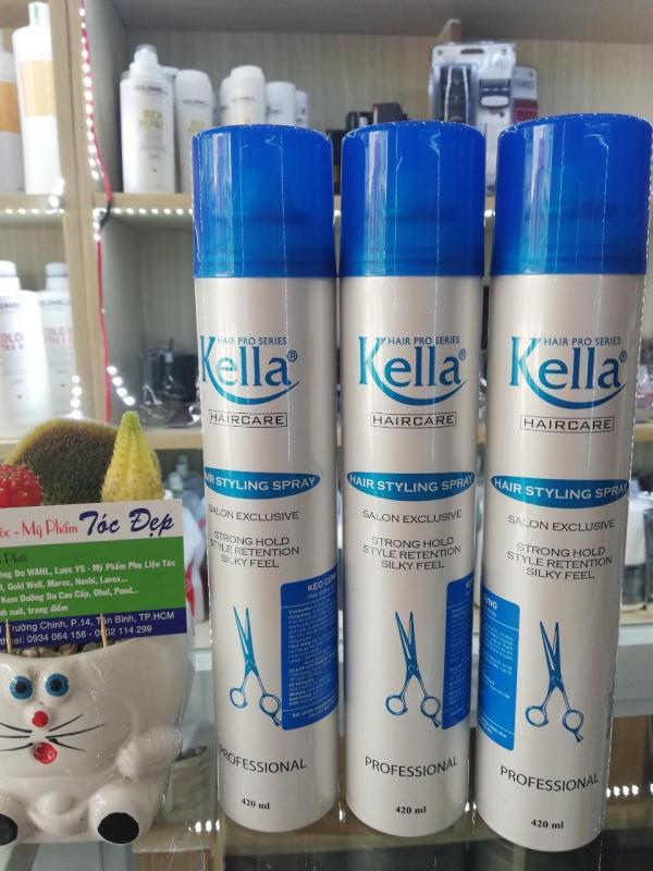 Keo xịt tóc Kella giá rẻ
