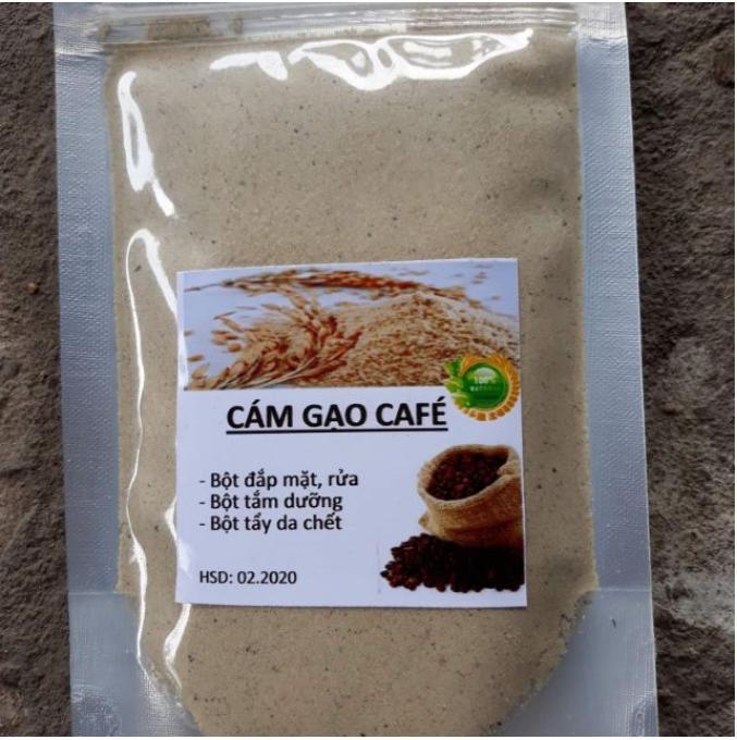 Bột cám gạo sữa nguyên chất làm mặt nạ dưỡng da, tẩy da chết mặt, tắm dưỡng trắng body 100g nhập khẩu