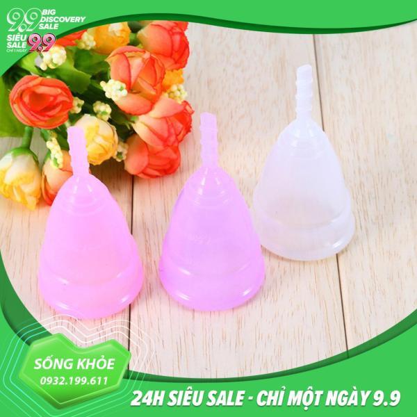 Cốc nguyệt san Vivacup siêu mềm (size S, L) giá rẻ