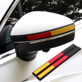 Bộ 02 miếng dán phản quang dán sau gương chiếu hậu, dán trang trí xeô tô thumbnail