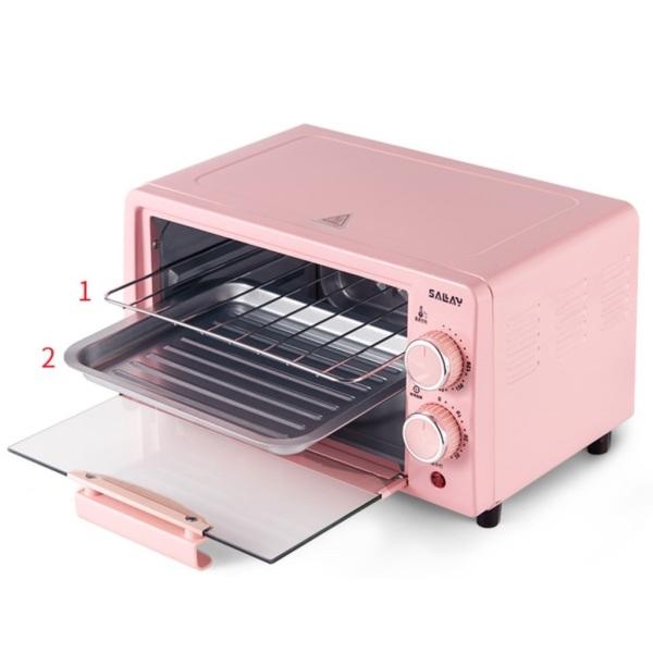 lò nướng đa năng / lò vi sóng mini dung tích 12l rã đông nướng bánh công suất 800w