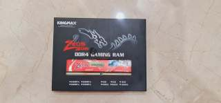 Ram PC Kingmax Zeus 8gbx2 new thumbnail