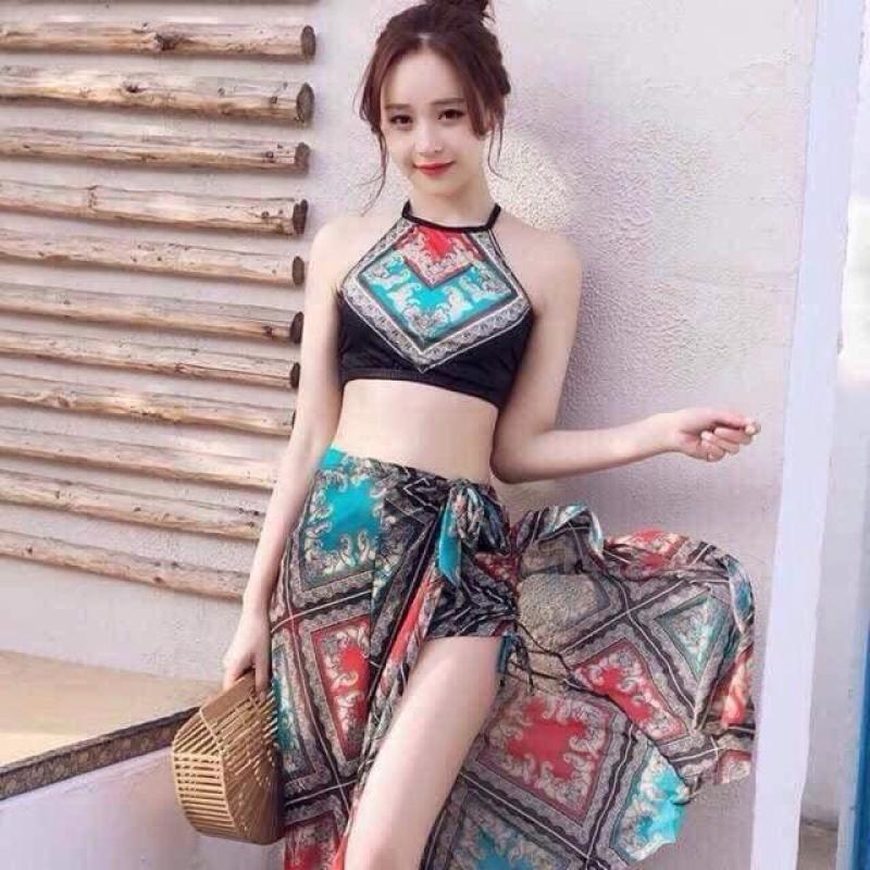 Nơi bán Set Bikini 3 Chi Tiết Siêu Xinh