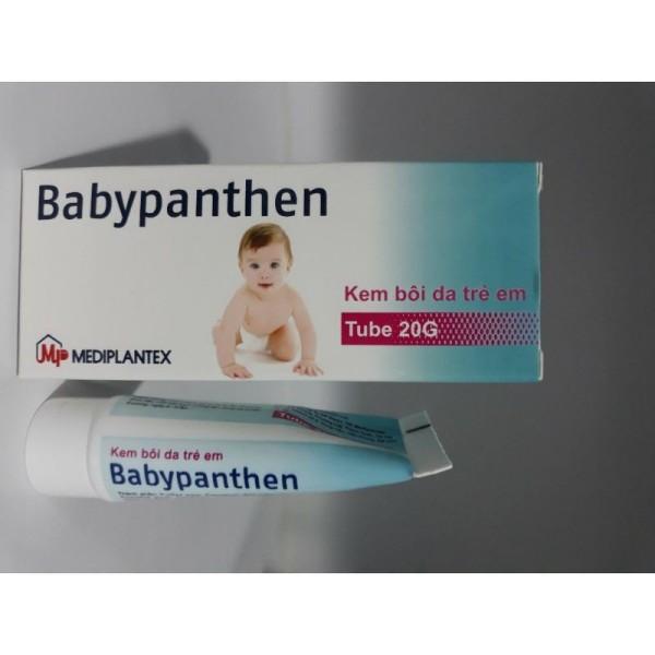 Kem Bôi Da Hăm,Mẩn Ngứa,Mề Đay,Trẻ Em Babypanthen( tube 20g) nhập khẩu