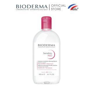 Dung dịch làm sạch và tẩy trang micellar cho da thường và da nhạy cảm Bioderma Sensibio H2O - 500ml thumbnail