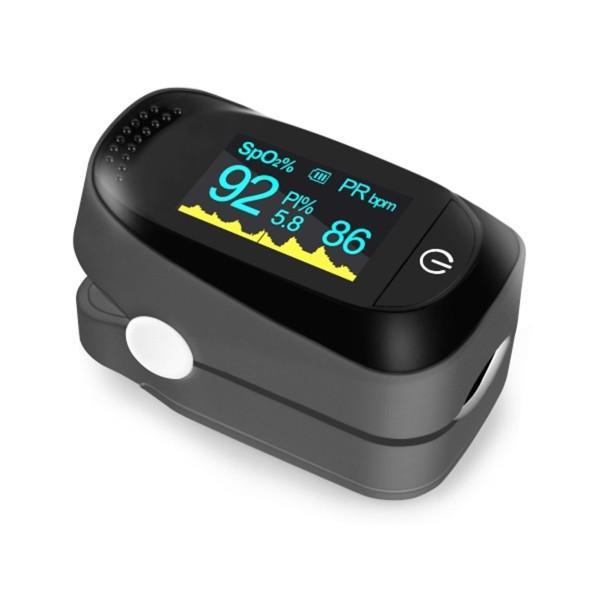 Máy Đo Nồng Độ Oxy Spo2 Kẹp Ngón Tay Fingertip Pulse Oximeter bán chạy