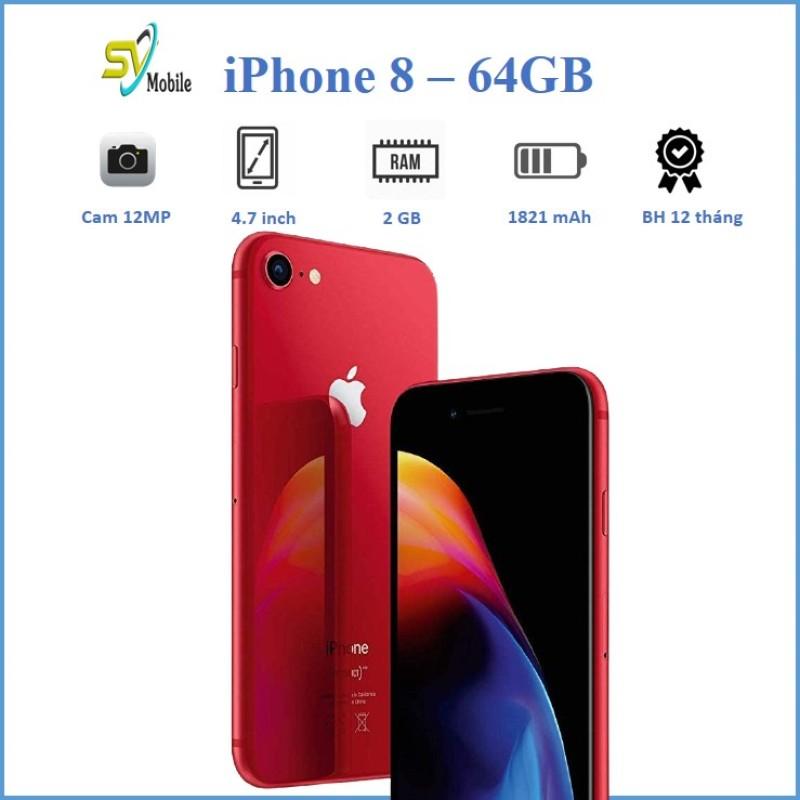 [Trả góp 0%]Điện Thoại Apple iPhone 8 64GB QUỐC TẾ. Tặng Full Phụ Kiện Bảo Hành 12 ThángĐổi Mới 30 Ngày