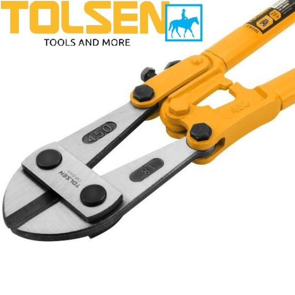 [Thu thập mã giảm thêm 30%] Kềm kìm cộng lực kéo cắt sắt 18inch 45cm bolt cutter Tolsen 10243 chất liệu cao cấp bền bỉ chống va đập thiết kế chắc chắn đảm bảo an toàn cho người sử dụng