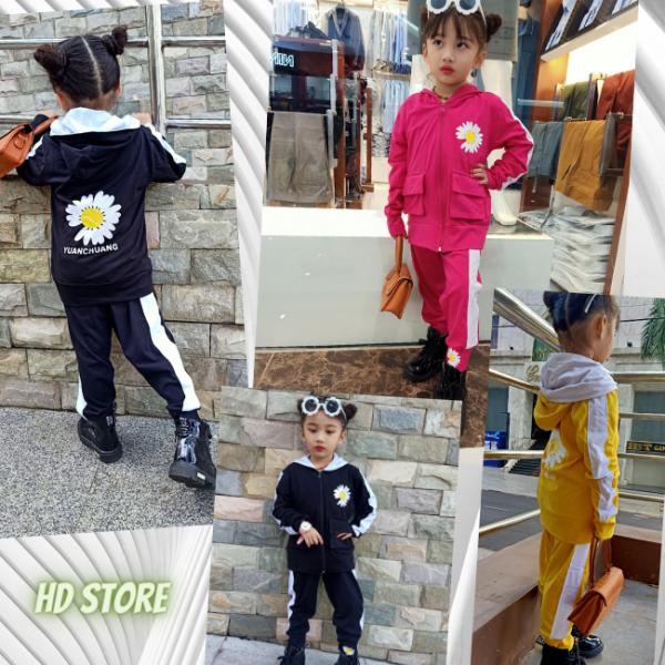 Giá bán Đồ bộ THU ĐÔNG bé gái, set bộ cho bé Hàng Chuẩn Shop 0172