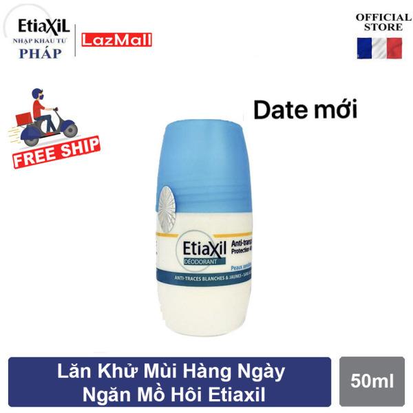 [Tem Chính Hãng ] Lăn Khử Mùi Hằng Ngày Etiaxil 50ml Giúp Ngăn Ngừa Mồ Hôi Trong 48h cao cấp