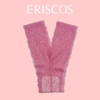Quần lót chữ Y ren hoa thương hiệu ERISCOS kiểu dáng lọt khe, sexy quyến rũ, chất ren nhập khẩu mềm mại khô thoáng họa tiết ren hoa hồng phấn ERQY003 thumbnail