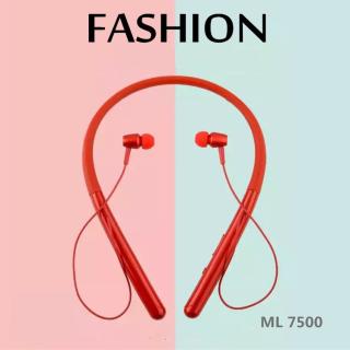 Tai nghe thể thao chạy bộ chơi game pin trâu bluetooth 5 0 ml-7500 fashion, kết nối bluetooth chuẩn mới nhất, đem lại chất lượng lượng truyền dẫn tối ưu thumbnail