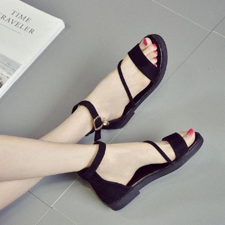 giày sandal đế bệt nhung | v999 giá rẻ