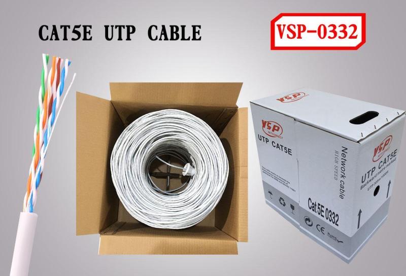 Bảng giá Cáp mạng cat5 VSP VISION UTP 5E 0332 Phong Vũ