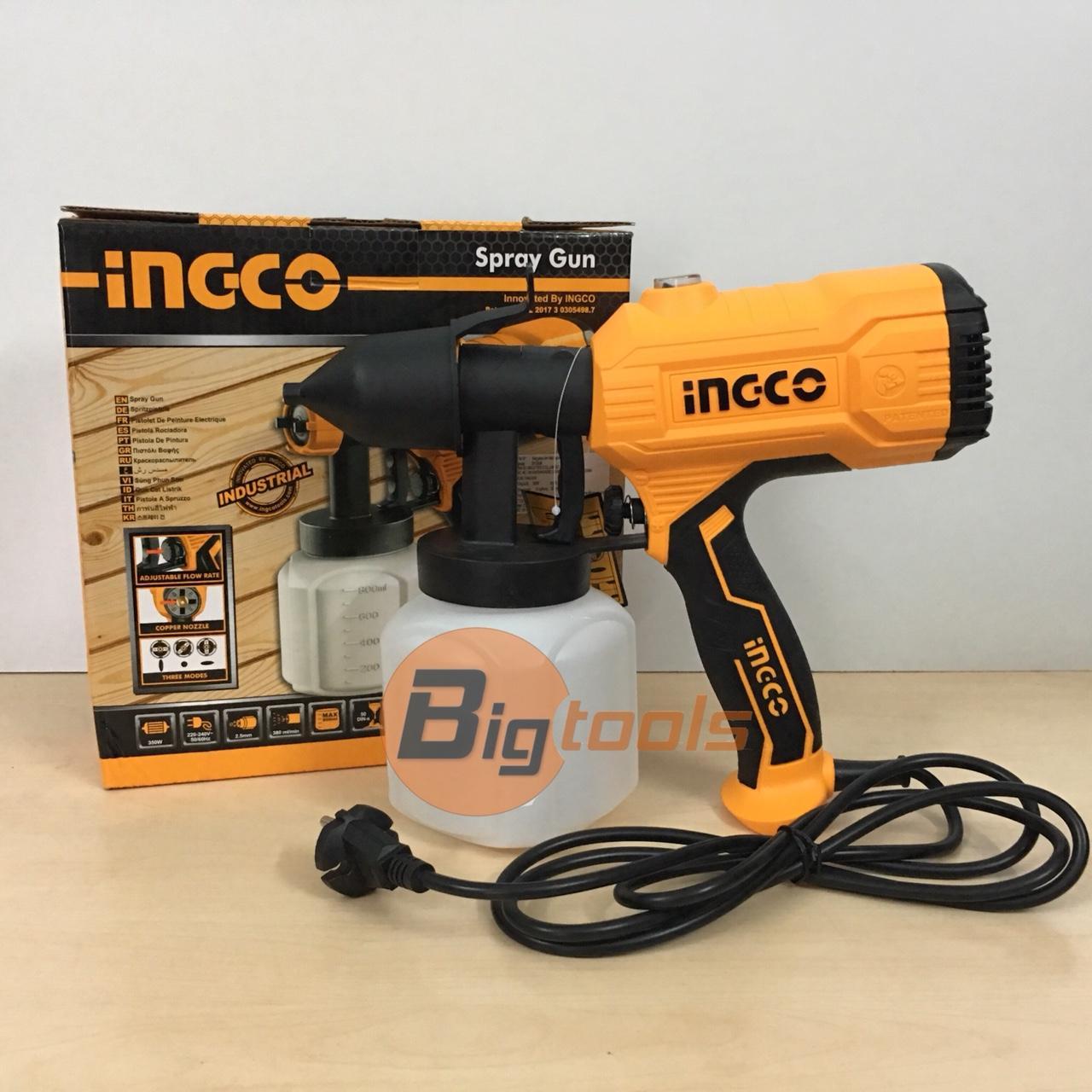 Máy phun sơn INGCO SPG3508 350W