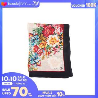 Khăn lụa nữ dáng dài họa tiết IVY moda MS 50A1004 thumbnail