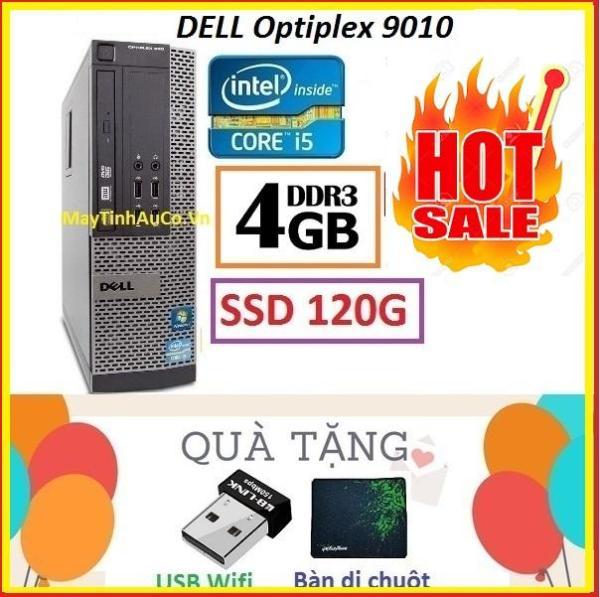 Bảng giá Thùng Dell optiplex 9010 Core i5 3470 / 4G / SSD 120G , Khuyến Mai USB wifi , Bàn di chuột - Bảo hành 02 Năm Phong Vũ