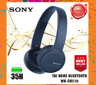 GIẢM GIÁ SỐC Tai Nghe Chụp Tai Bluetooth Sony WH-CH510 - Kết Nối Bluetooth 10M , Có Mic Thoại , Cổng Sạc Type-C , Có Các Nút Điều Chỉnh Chúc Năng Trên Tai Nghe , Thời Gian Sử Dụng Lên Đến 35 Giờ ( BẢO HÀNH 12 THÁNG ) thumbnail