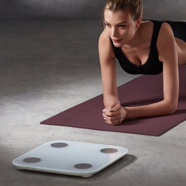 Cân sức khỏe điện tử thông minh Body Composition Scale cân Bluetooth Cân phân tích chỉ số cơ thể