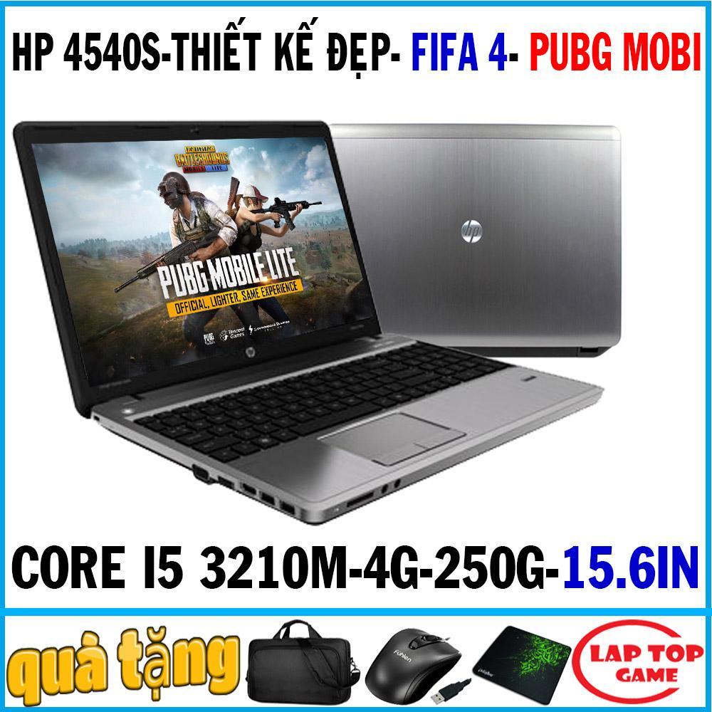 Chơi Game+ Đồ Họa - FIFA 4, PUBG MOBI- HP Probook 4540s ( I5-3210M, 4GB, 250GB, VGA On Intel HD 4000, Màn 15.6″ HD LED, Có Phím Số, Vỏ Nhôm ) Đang Có Ưu Đãi