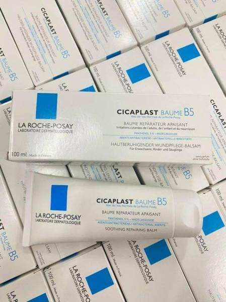 (100ml) Kem Dưỡng Phục Hồi Da La Roche Posay Cicaplast Baume Cream B5