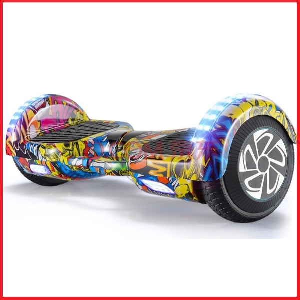 Giá bán Xe điện cân bằng Chainless, mẫu mới bánh 6.5 inch, sử dụng pin Lithium bền bỉ, tốc độ tối đa 20km, thời gian chạy 3 đến 5 tiếng, Xe cân bằng, tích hợp đèn loa bluetooth - Bảo Hành 1 Năm