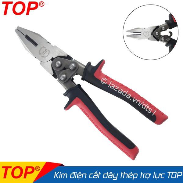 Kìm điện trợ lực cắt dây thép chuyên nghiệp TOP 8inch/200mm