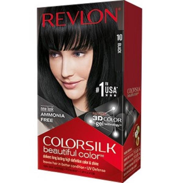 Thuốc Nhuộm Tóc Revlon ColorSilk 3D. Số 10 - Màu Đen tự Nhiên. giá rẻ