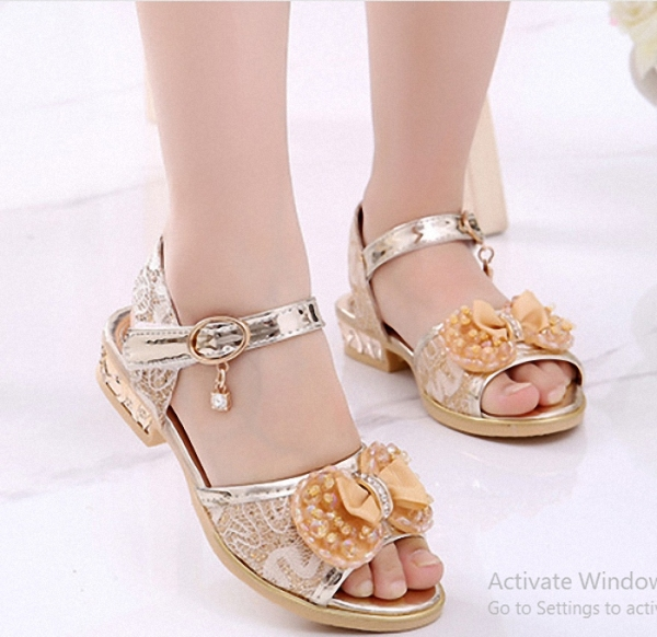 Giá bán Dép sandal bé gái cho công chúa đáng yêu - SAV2