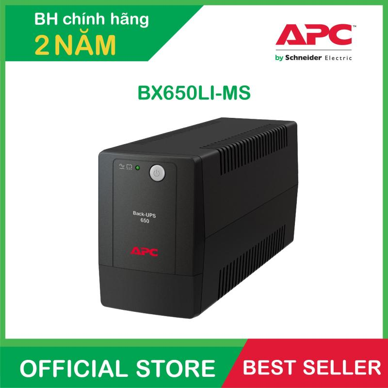 Bảng giá Bộ lưu điện APC: Back-UPS 650VA, 230V, AVR, Universal Sockets - BX650LI-MS Phong Vũ