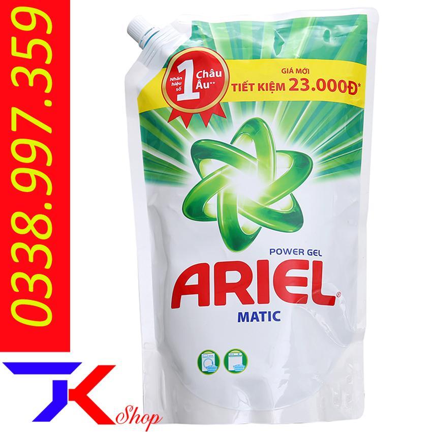 Nước Giặt Ariel Matic Túi 1.4kg Giảm Cực Đã