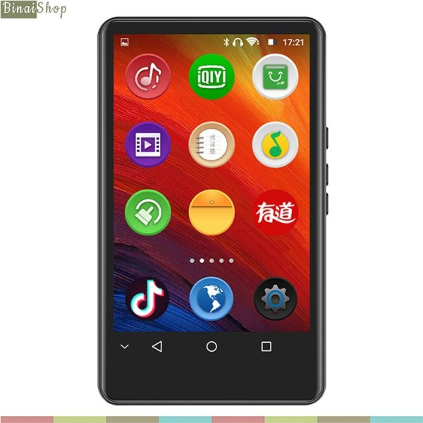 Ruizu H6 - Máy Nghe Nhạc Cảm Ứng Hệ Điều Hành Android 5.1, Kết Nối Bluetooth Wifi, Loa Ngoài (8Gb)