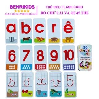 Bộ 42 Thẻ Học Flashcard Chữ Cái, Số Đếm Kèm Các Dấu Câu Thông Minh Hỗ Trợ Bé Học Tốt Môn Toán Và Tiếng Việt, Đồ Chơi Giáo Dục Cho Trẻ Nhỏ thumbnail