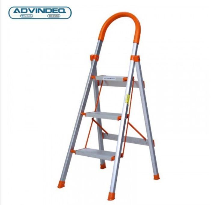 Thang nhôm ghế 3 bậc xếp gọn Advindeq ADS-703