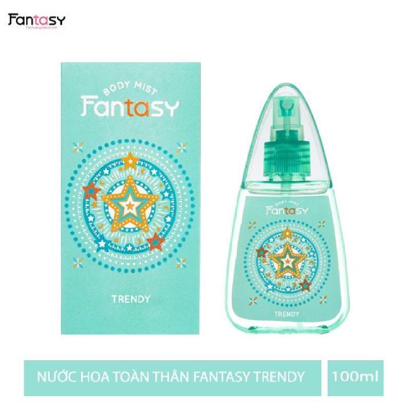 Nước hoa toàn thân Fantasy - Trendy 100ml