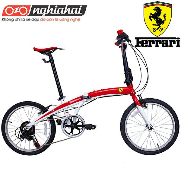 Mua Xe đạp gấp Ferrari Speed 7