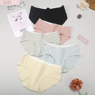 Quần lót nữ GINDY cotton không đường may không viền thấm hút mồ hôi QL0221003 thumbnail