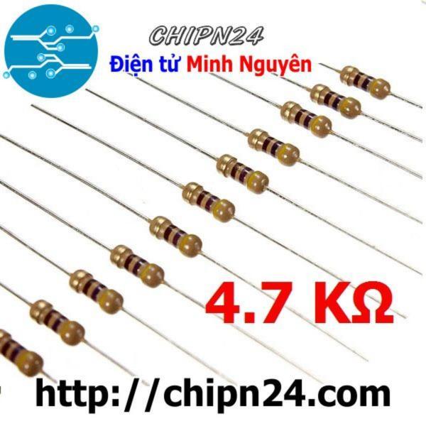 Bảng giá [Nhập ELJAN11 giảm 10%, tối đa 200k, đơn từ 99k][100 CON] Điện Trở 4K7 1/4W