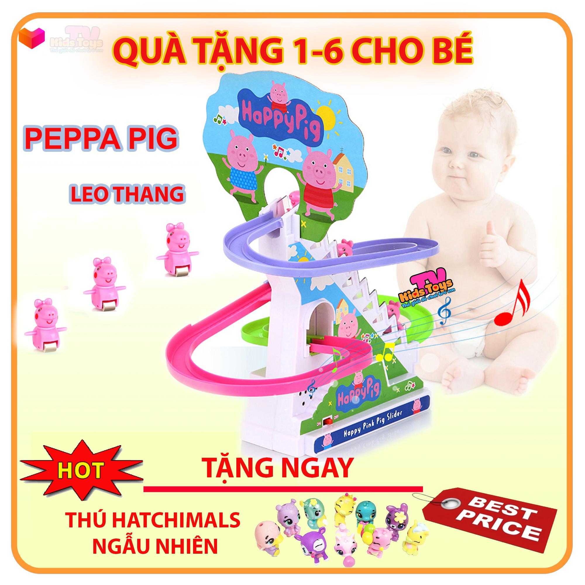 Giá Cực Tốt Khi Mua Đồ Chơi Heo Peppa Leo Thang Có Nhạc đèn Cho Bé