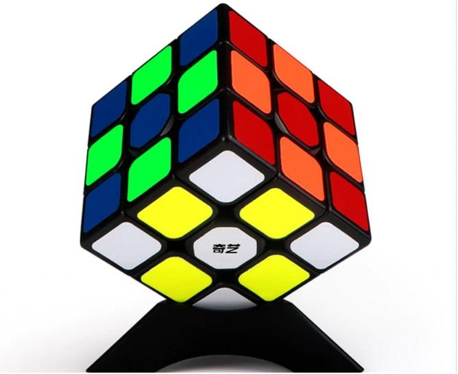 [HCM]Đồ chơi Rubik QiYi 3x3 Sticker - Rubik Cao Cấp Trơn Mượt Bẻ Góc Tốt