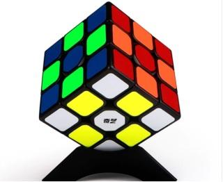 Đồ chơi Rubik QiYi 3x3x3 Sticker - Rubik Cao Cấp, Trơn Mượt, Bẻ Góc Tốt thumbnail