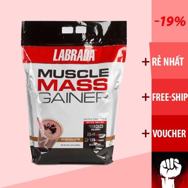 Labrada Muscle Mass Gainer  Sữa Whey Tăng Cân Tăng Cơ 5.4kg - Chính Hãng 100% - Muscle Fitness giá rẻ