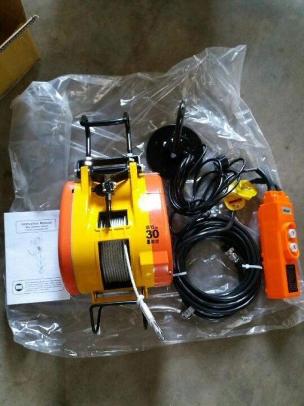 [Trả góp 0%]Tời Điện Treo LE EASY S300 (300KG) TAIWAN